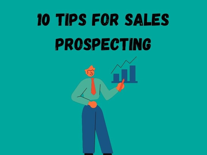 10 Tips for Sales Prospecting
