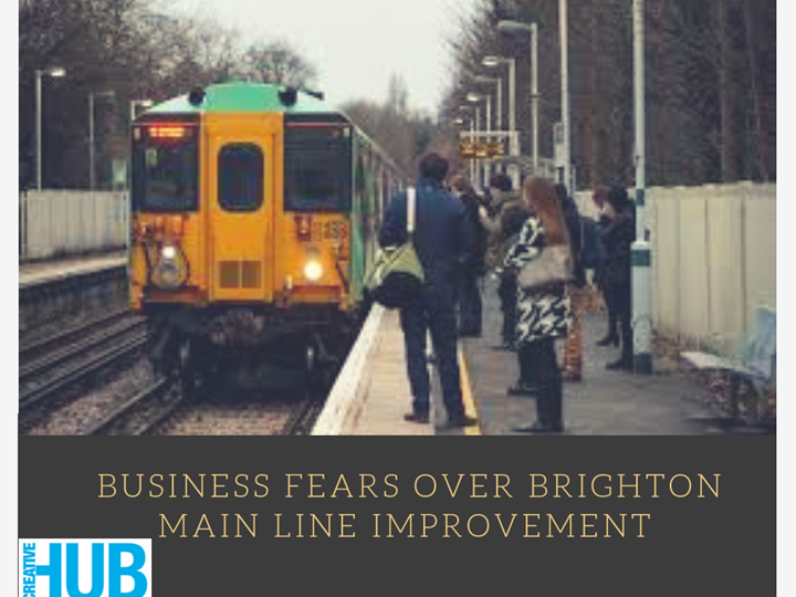 Business Fears over Brighton Main Line Improvement Rail Work..