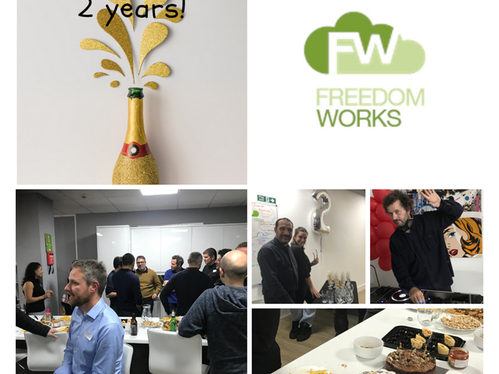 Our Freedom Works 2nd anniversary party!