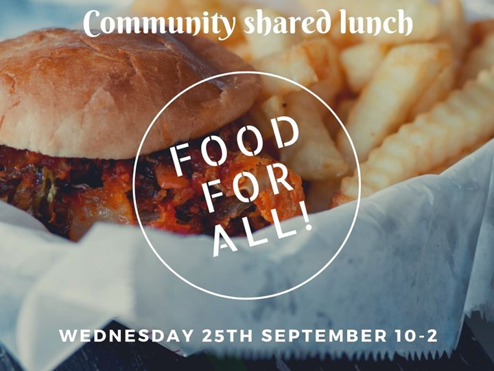 September Community Shared Lunch
