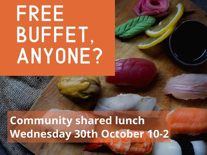 October Community Shared Lunch