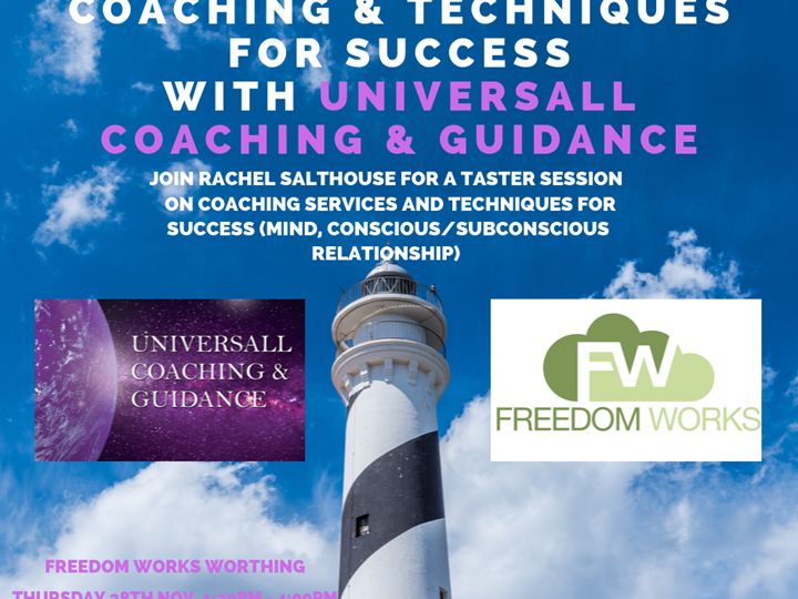 Coaching & Techniques for Success With Universall Coaching & Guidance
