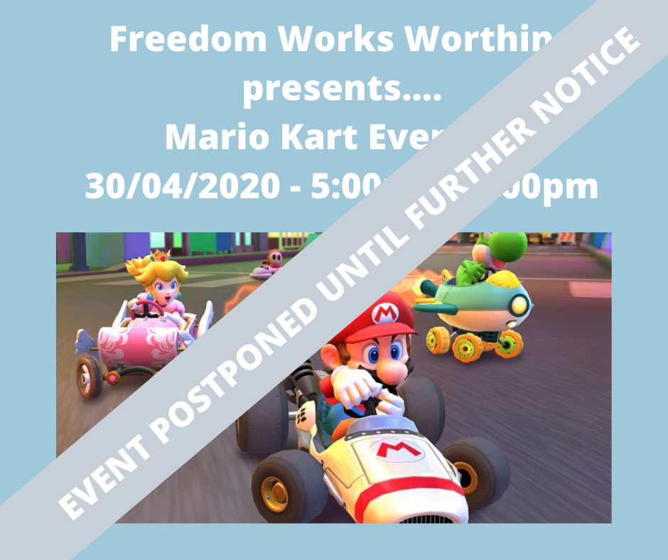 Freedom Works Worthing Mario Kart Evening!