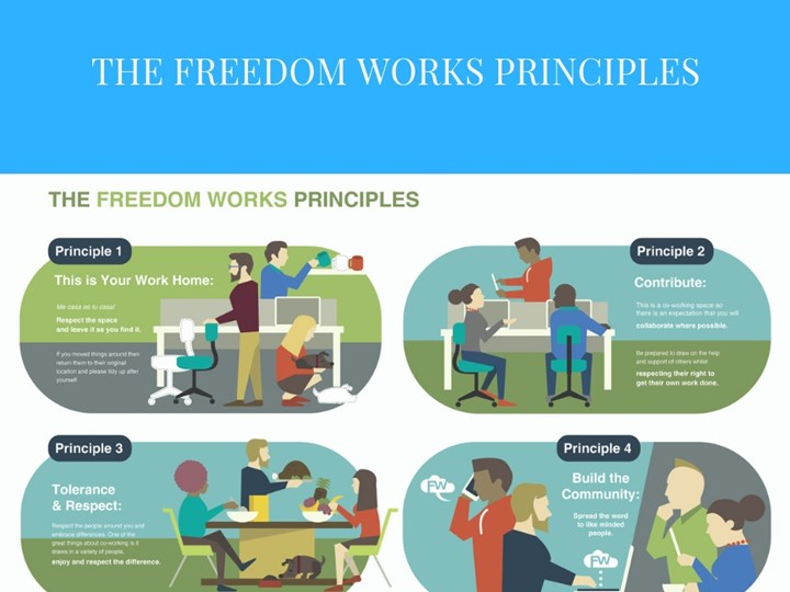 The launch Of Freedom Works Principals!