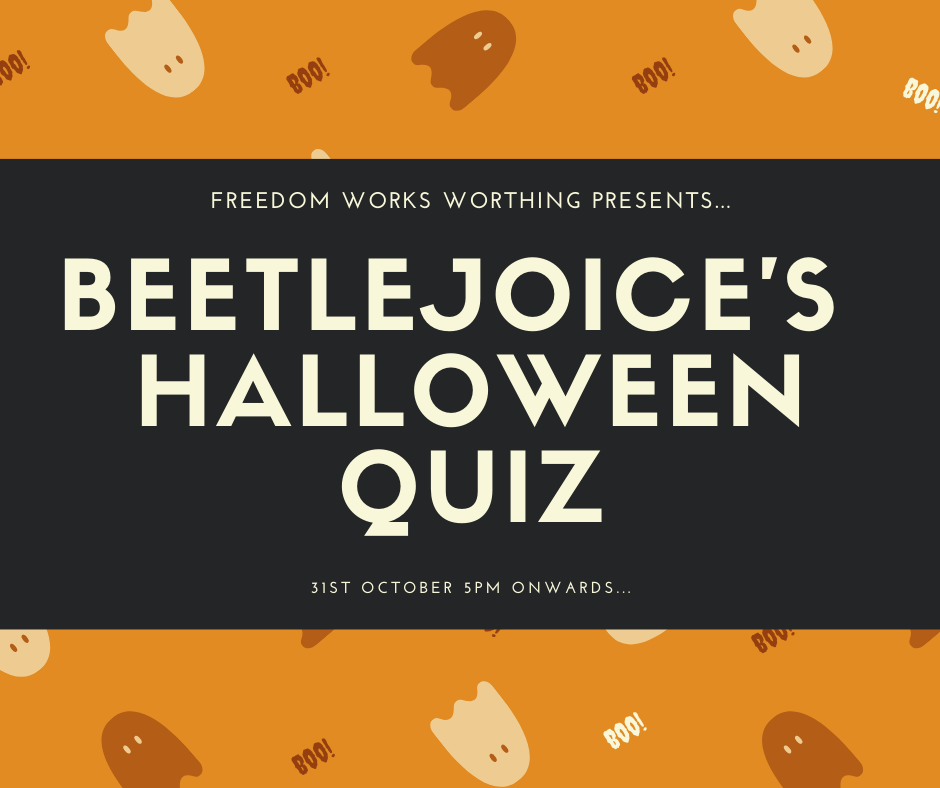 Halloween Quiz Night in Aid of St Barnabas House!
