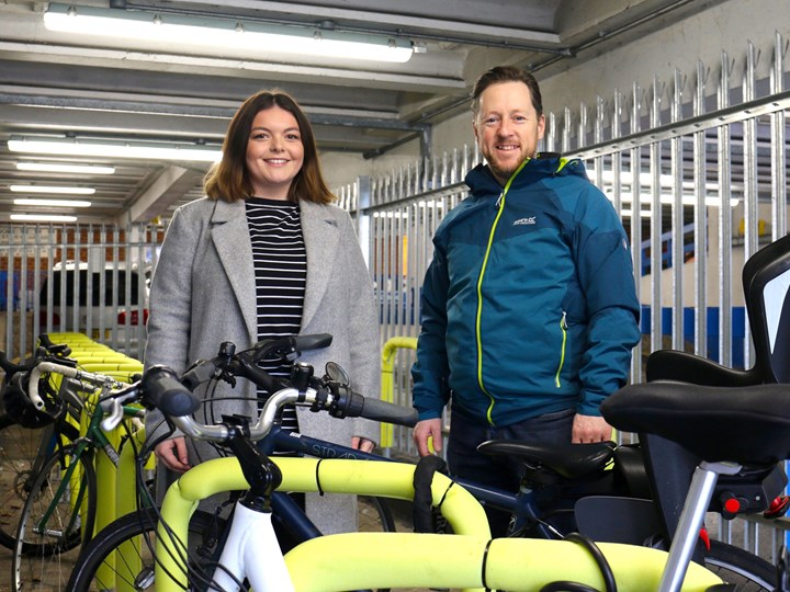 Freedom Works teams up with Worthing Borough Council to welcome cycle hub